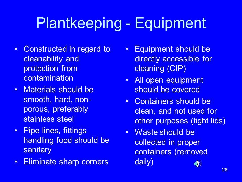 Plantkeeping - Equipment