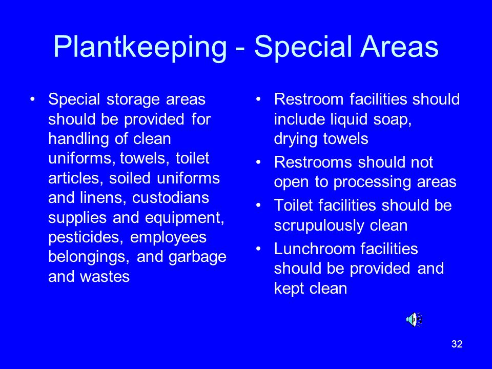 Plantkeeping - Special Areas