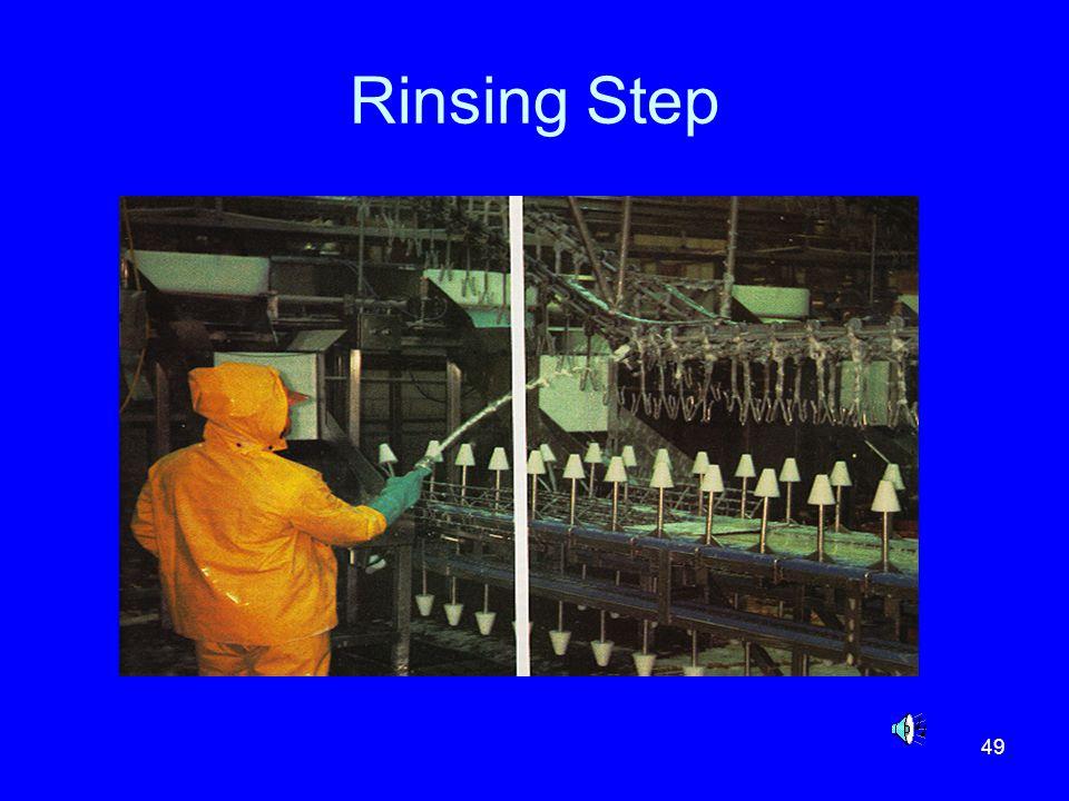 Rinsing Step