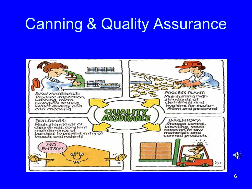 Canning & Quality Assurance
