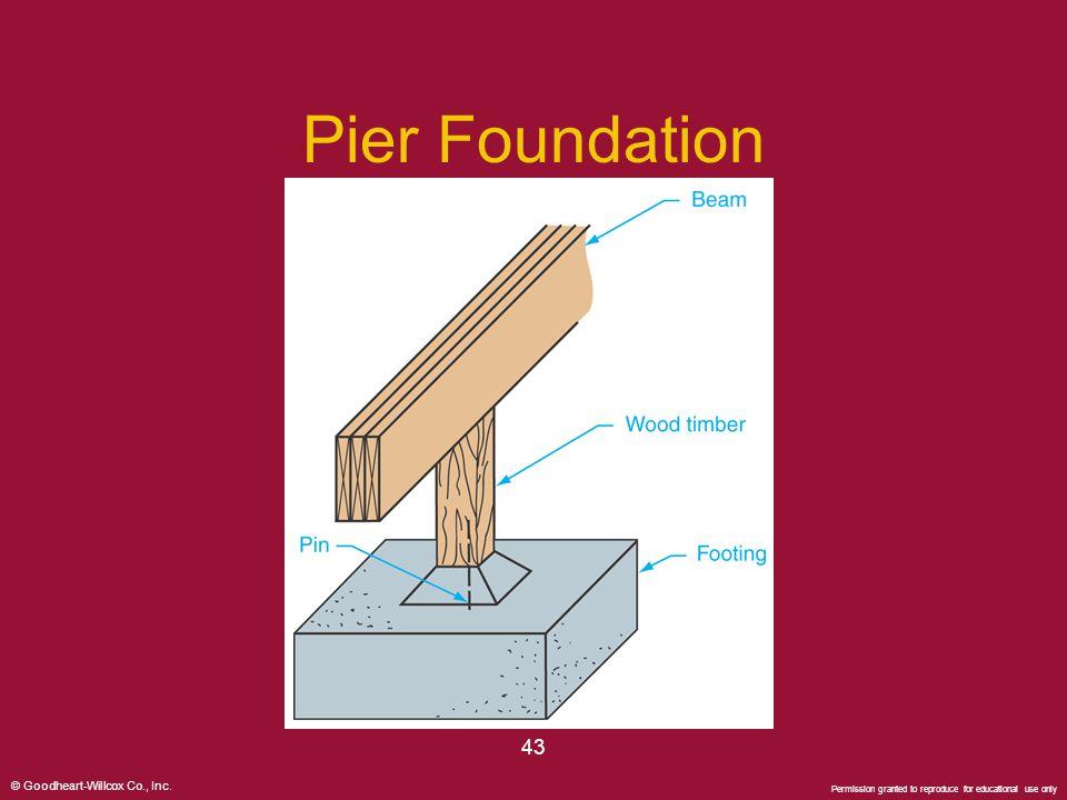 Pier Foundation 43