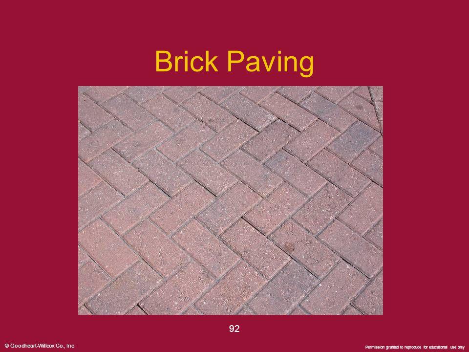 Brick Paving 92