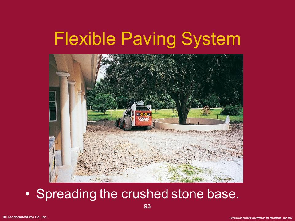 Flexible Paving System