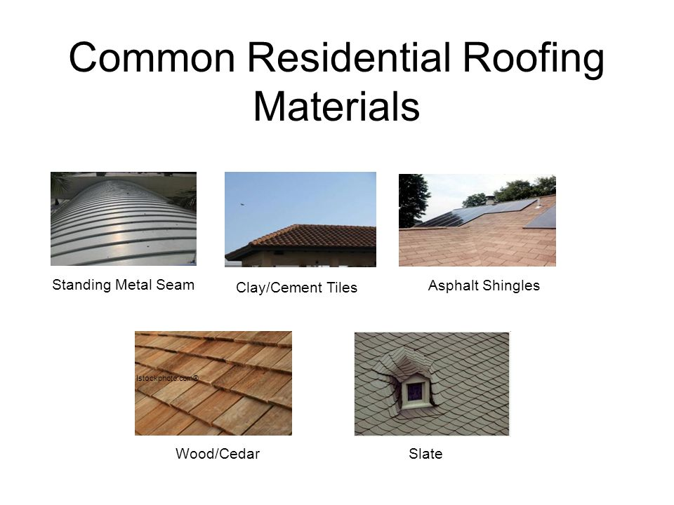 Common Residential Roofing Materials