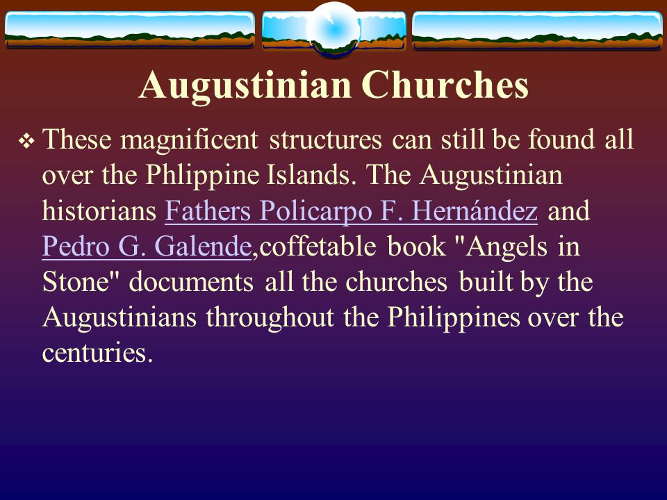 Augustinian Churches