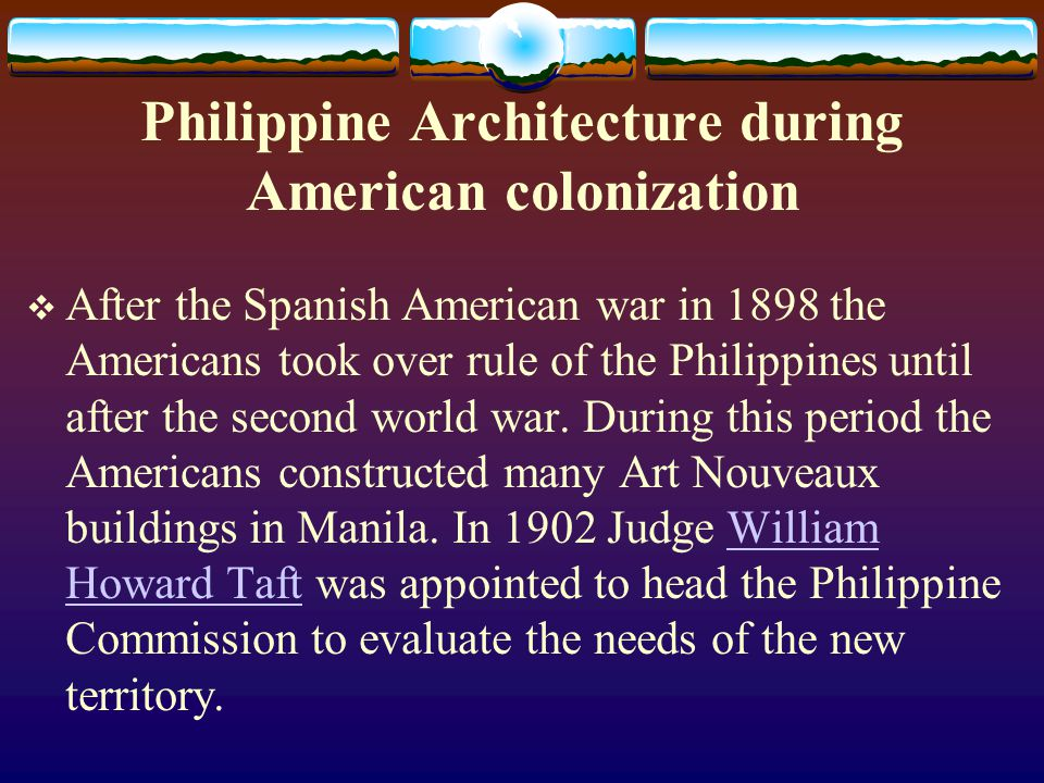 Philippine Architecture during American colonization