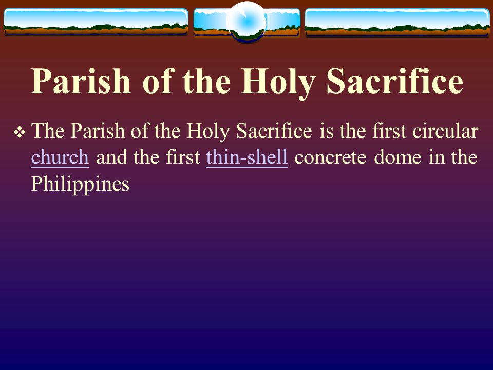 Parish of the Holy Sacrifice