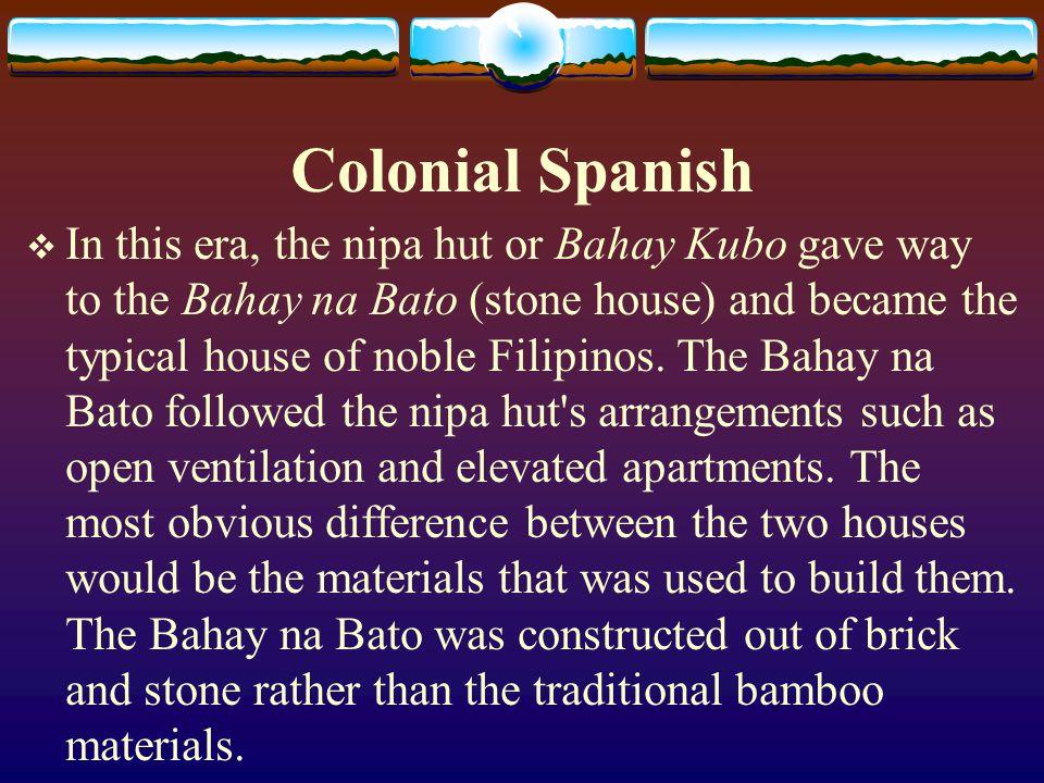 Colonial Spanish
