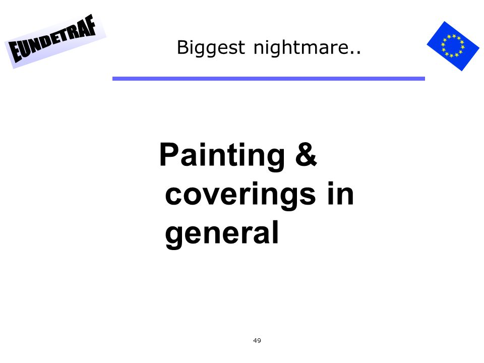 Painting & coverings in general