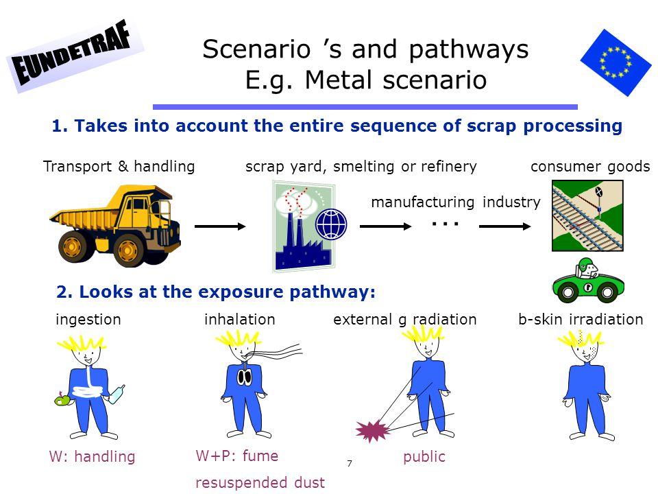 Scenario 's and pathways E.g. Metal scenario