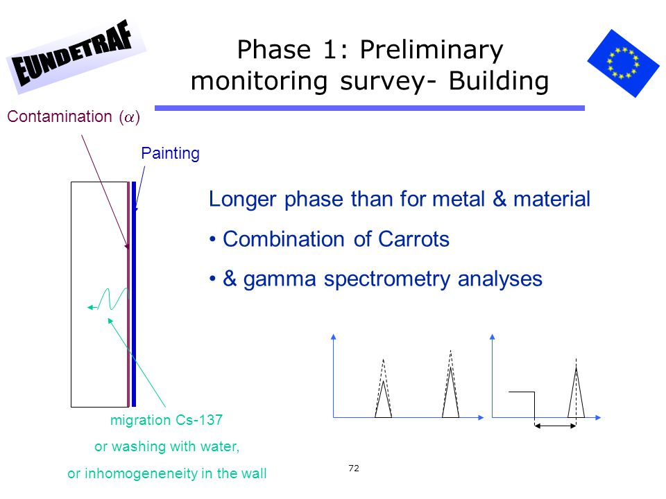 Phase 1: Preliminary monitoring survey- Building
