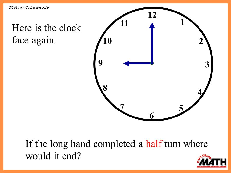 Here is the clock face again.