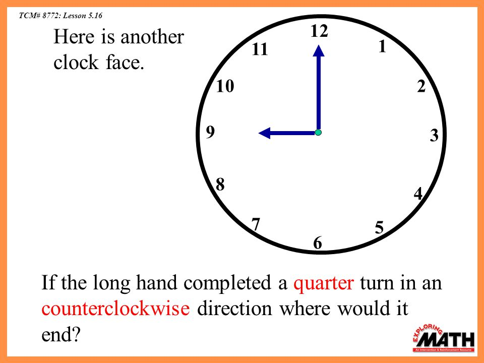 Here is another clock face.