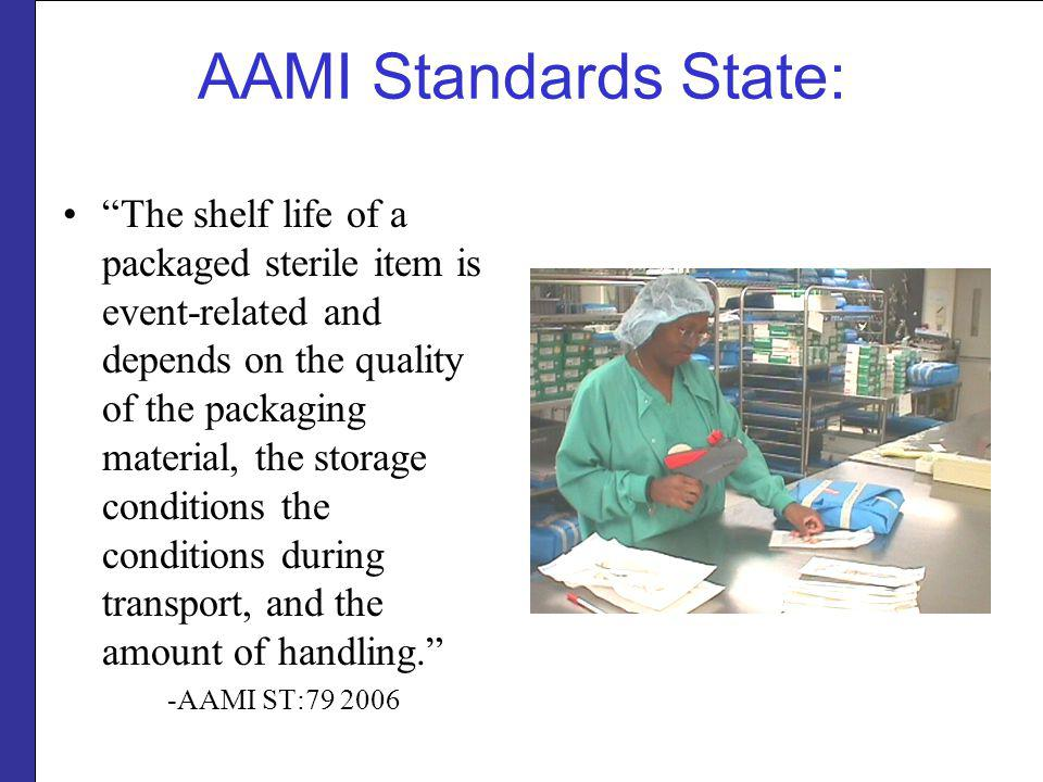 AAMI Standards State: