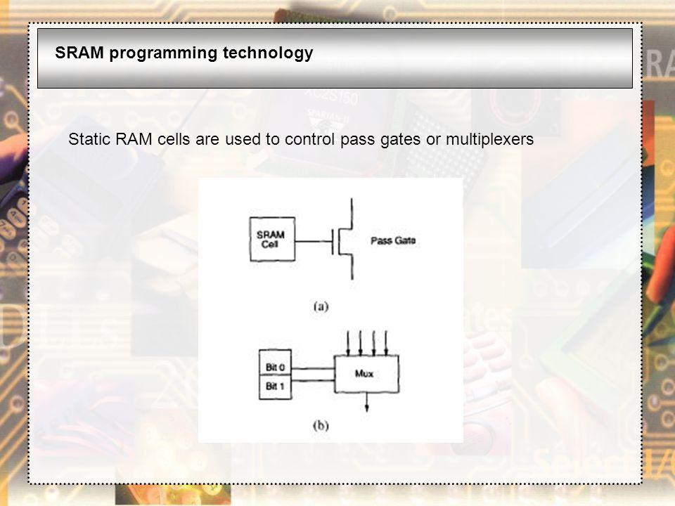 SRAM programming technology