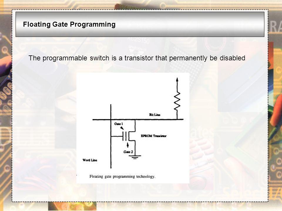 Floating Gate Programming