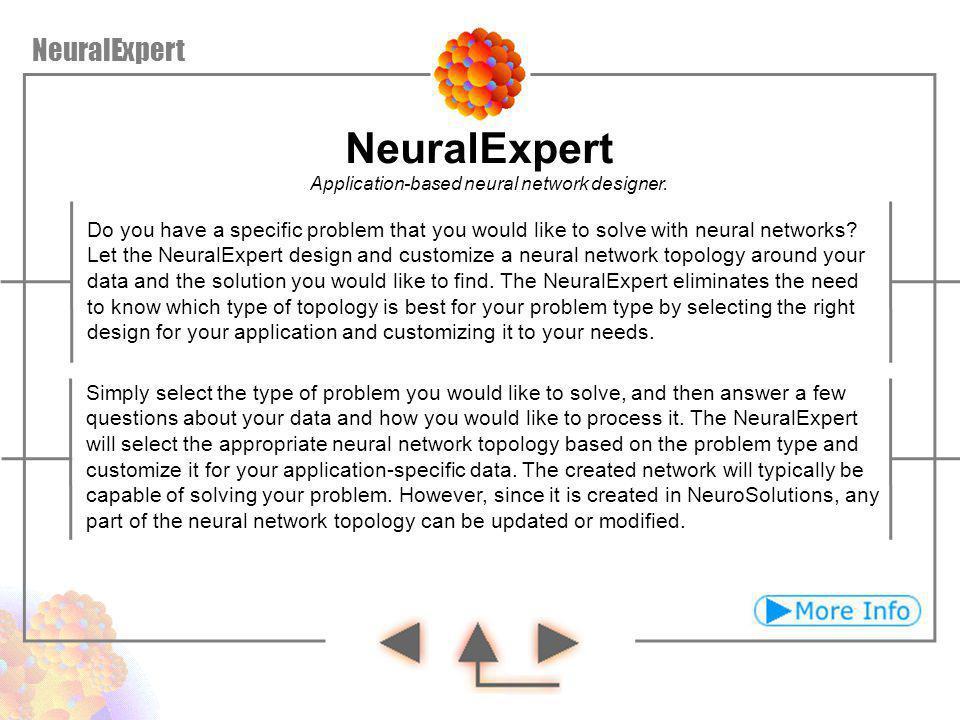 NeuralExpert NeuralExpert
