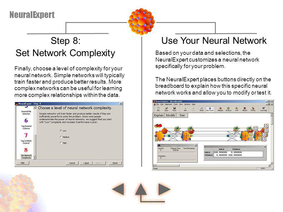 Use Your Neural Network Set Network Complexity