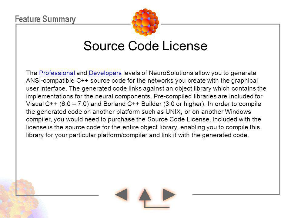 Source Code License