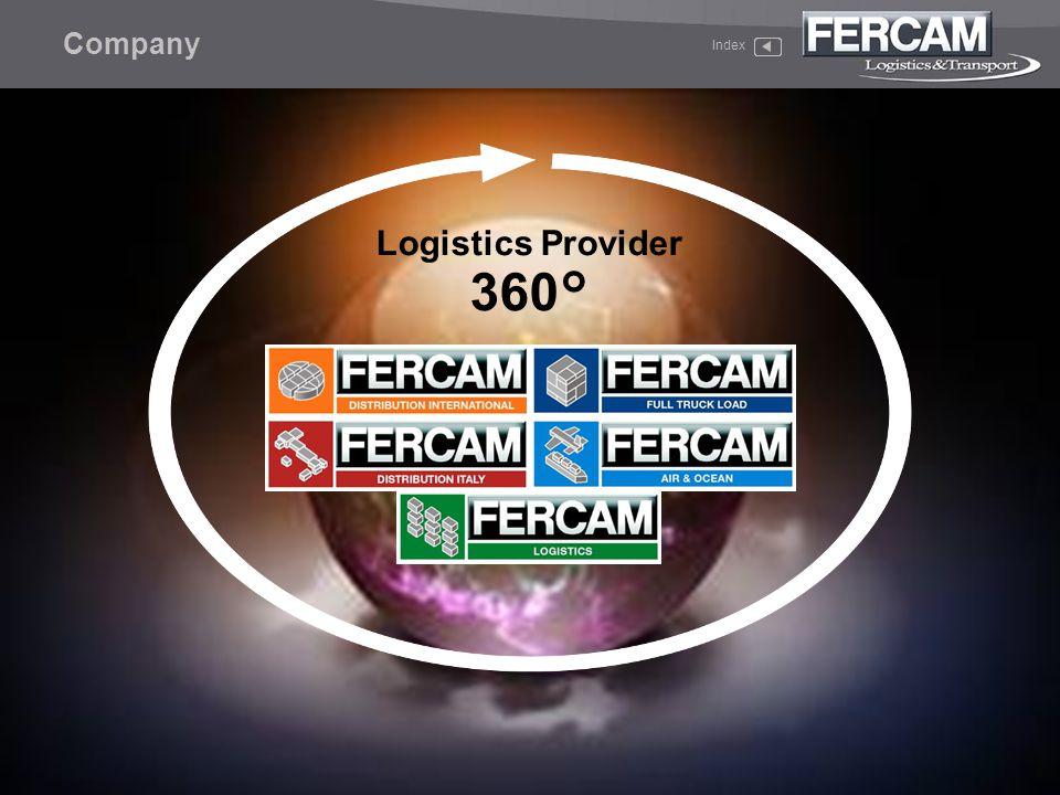 Company Index Logistics Provider 360°