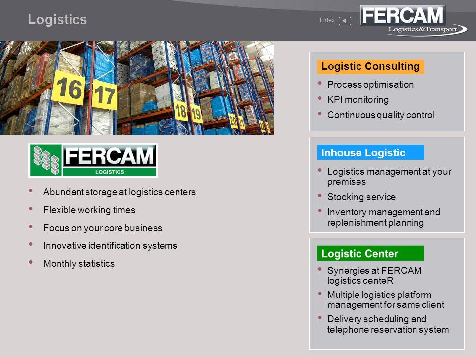 Logistics Logistic Consulting Inhouse Logistic Process optimisation