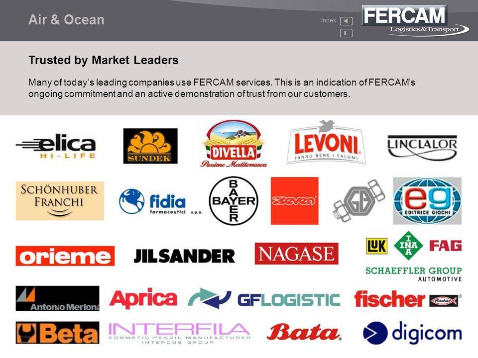 Air & Ocean Trusted by Market Leaders