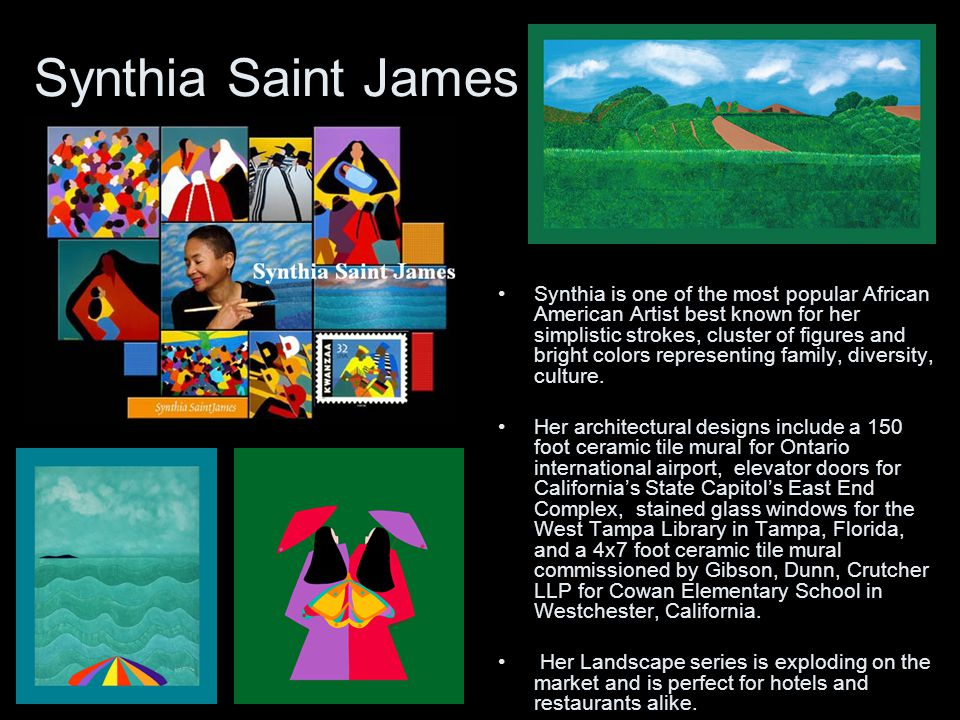 Synthia Saint James