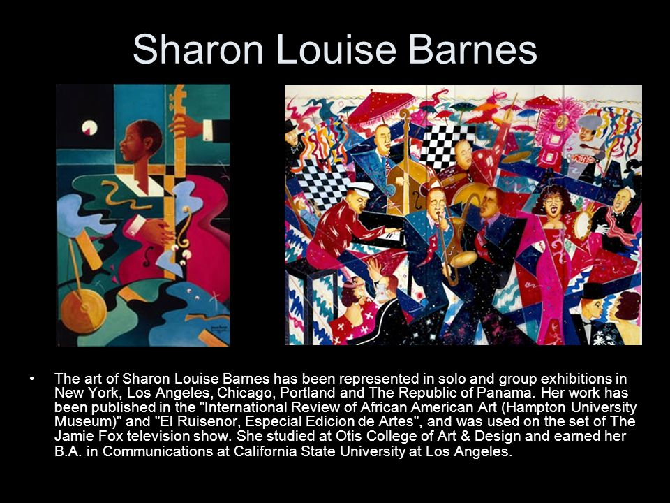 Sharon Louise Barnes