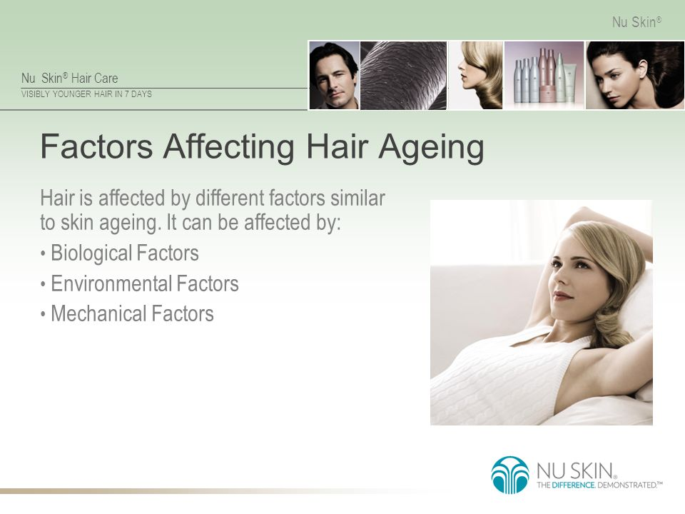 Factors Affecting Hair Ageing