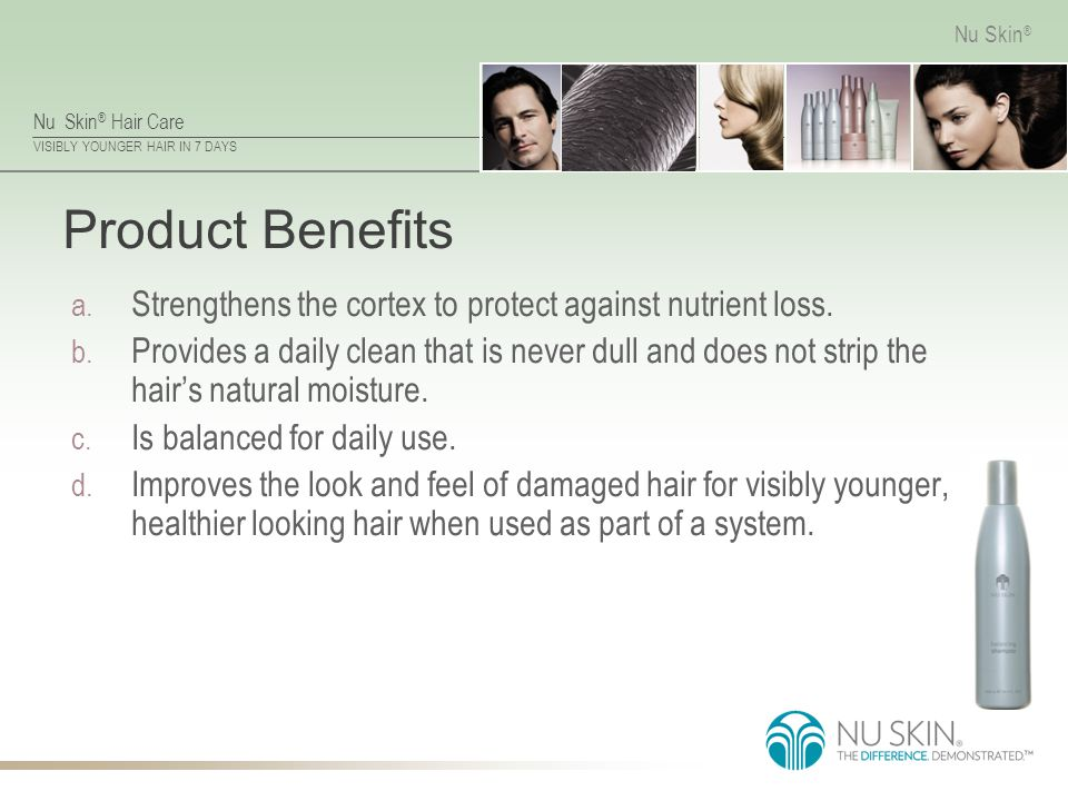 Product Benefits Strengthens the cortex to protect against nutrient loss.