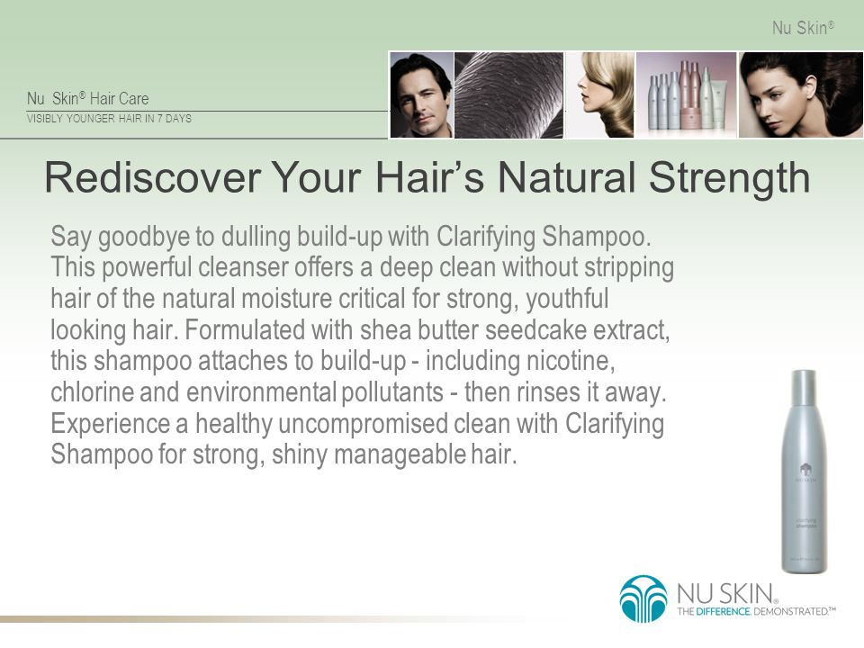 Rediscover Your Hair's Natural Strength