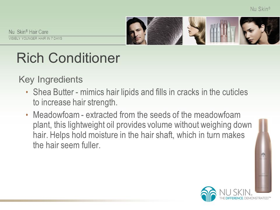 Rich Conditioner Key Ingredients