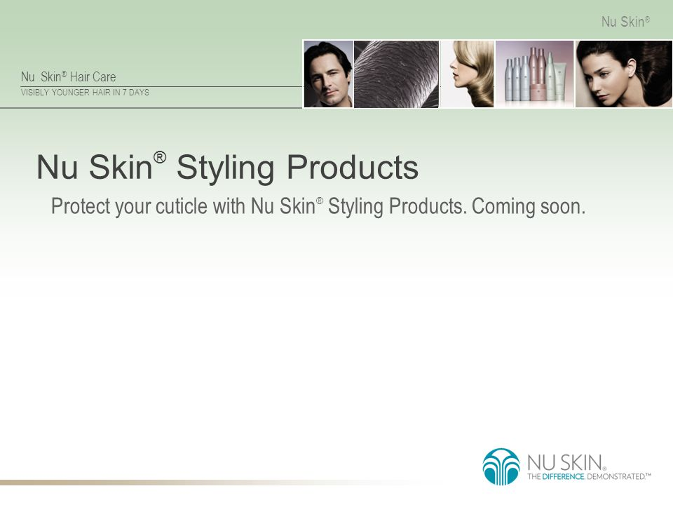 Nu Skin® Styling Products