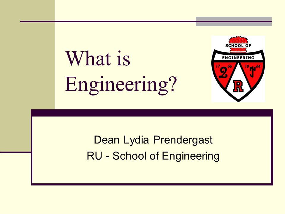 Dean Lydia Prendergast RU - School of Engineering - ppt