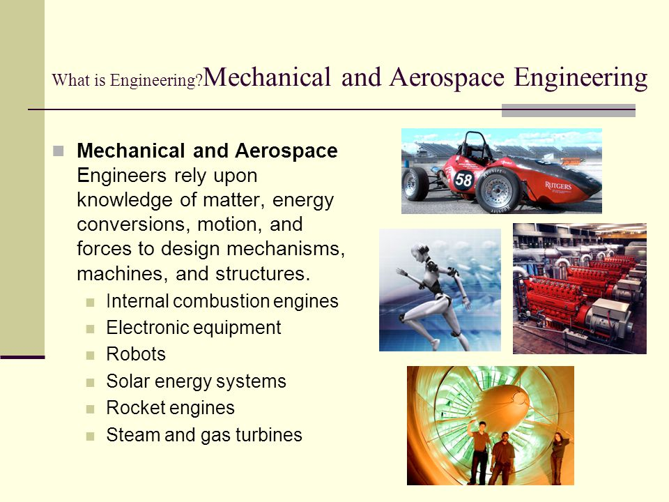 What is Engineering Mechanical and Aerospace Engineering