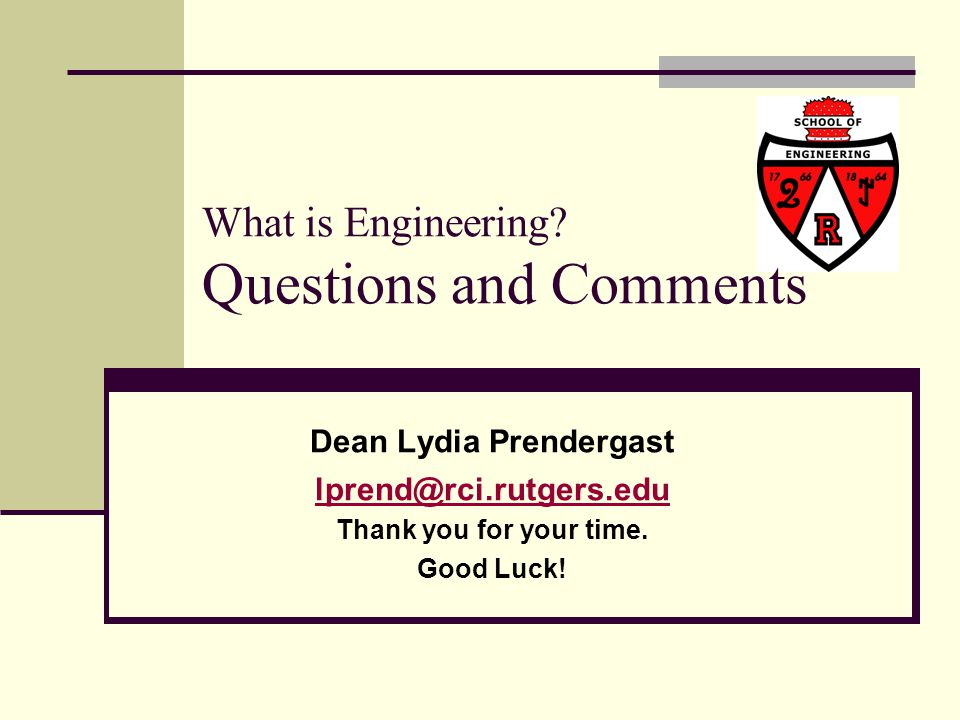 What is Engineering Questions and Comments