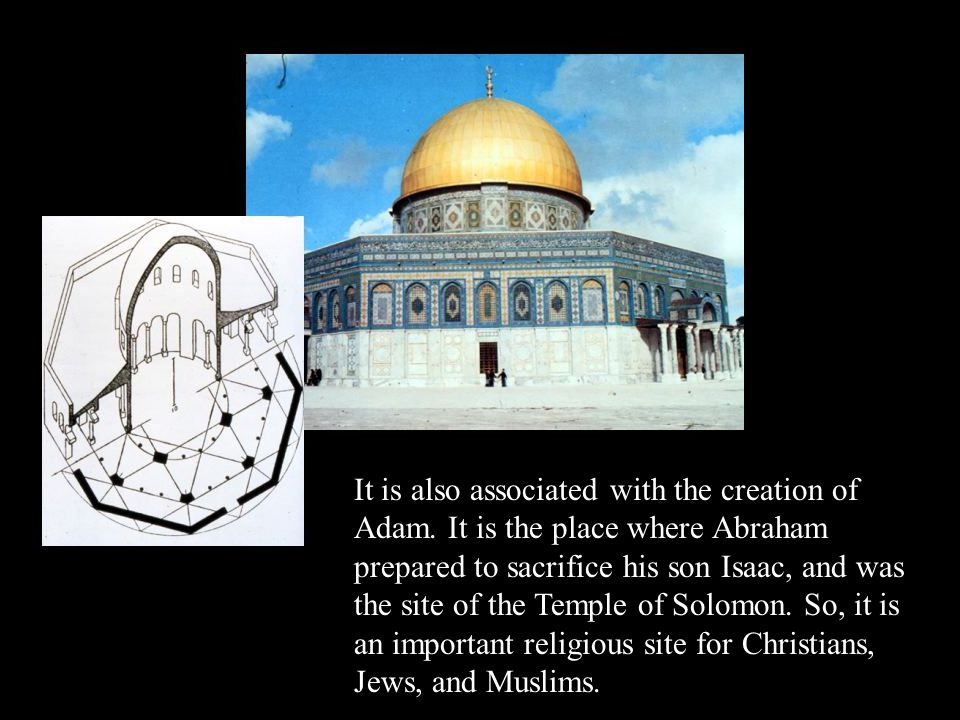 It is also associated with the creation of Adam