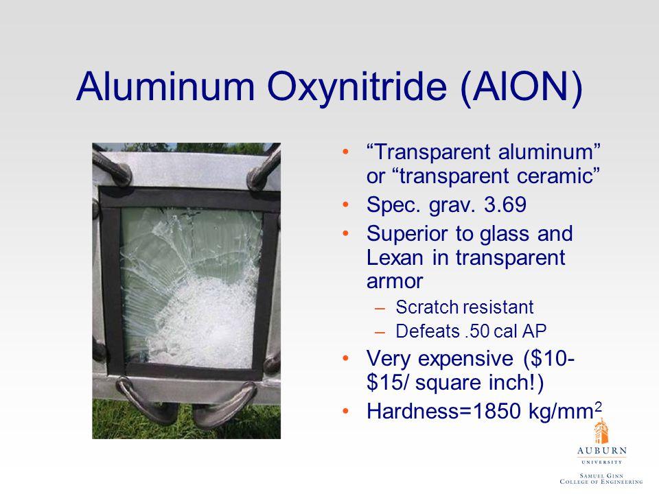 Aluminum Oxynitride (AlON)