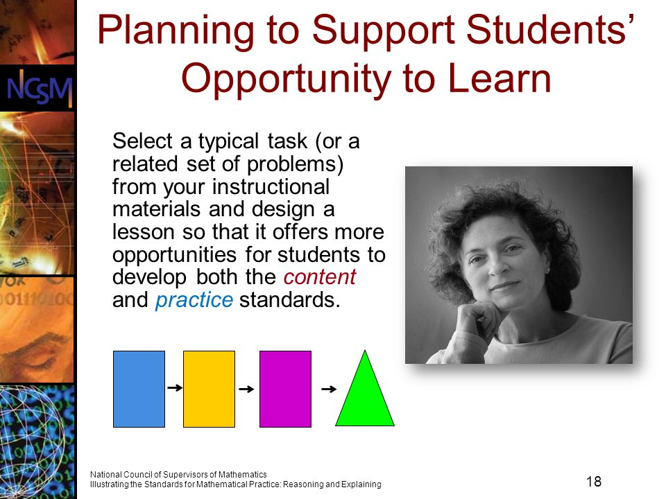 Planning to Support Students' Opportunity to Learn