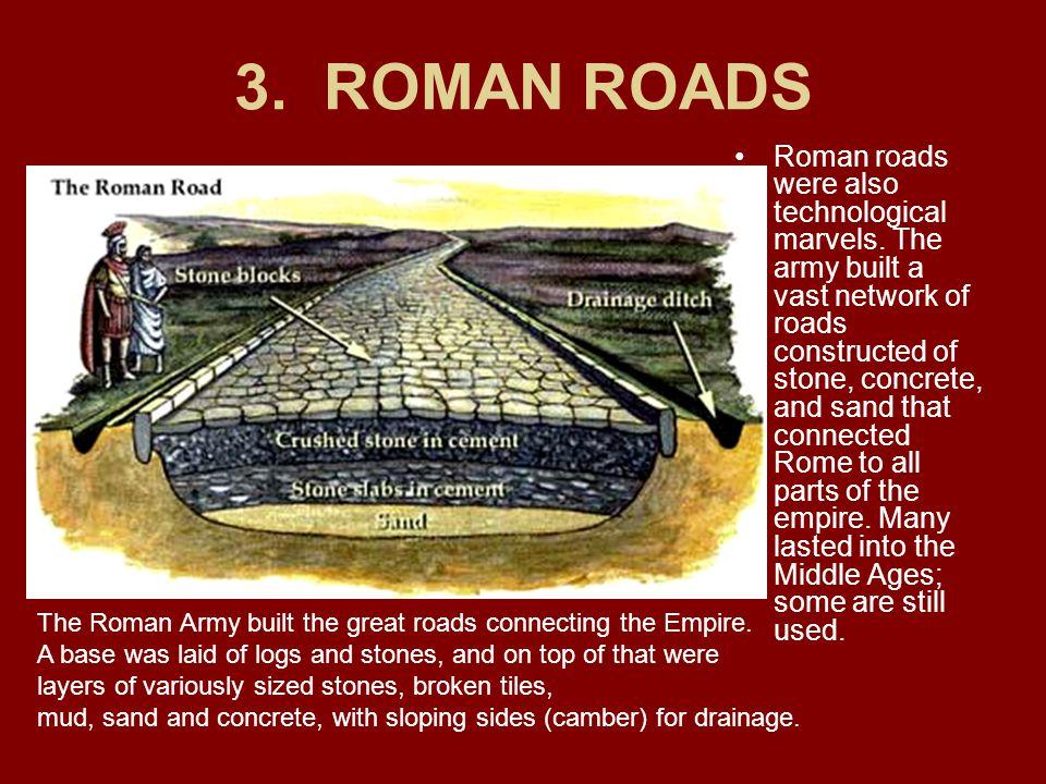 3. ROMAN ROADS