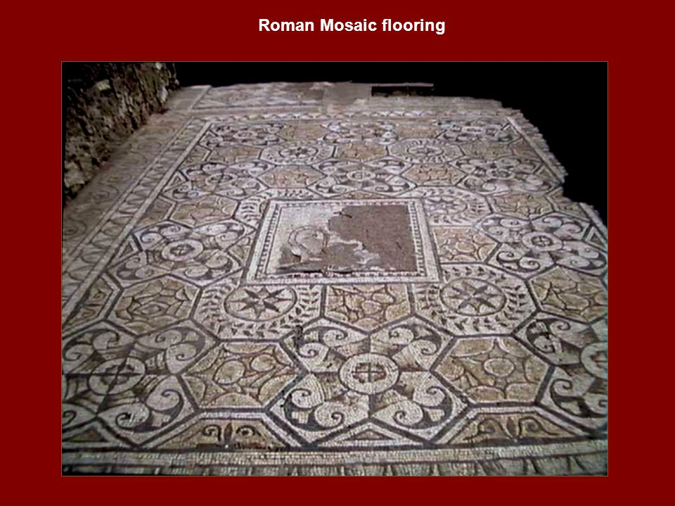 Roman Mosaic flooring