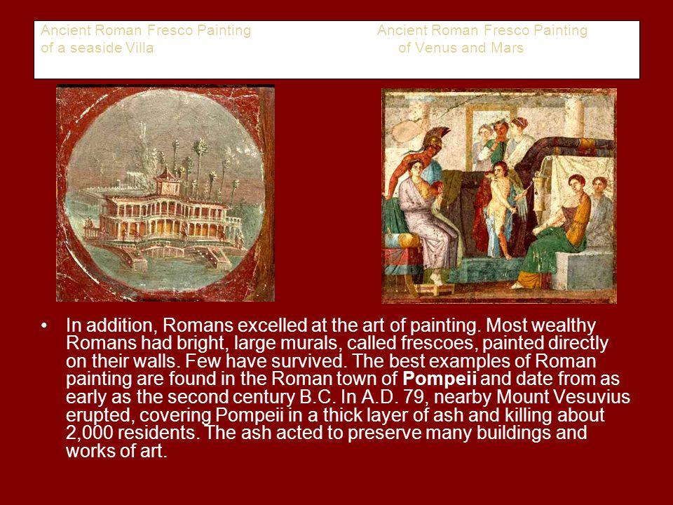 Ancient Roman Fresco Painting