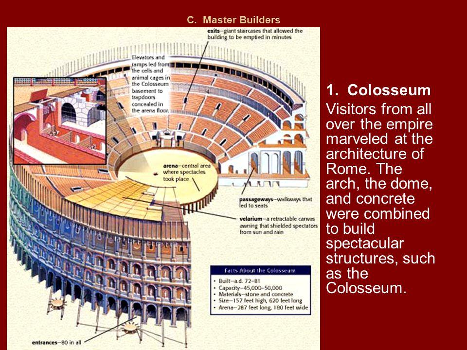 C. Master Builders 1. Colosseum.