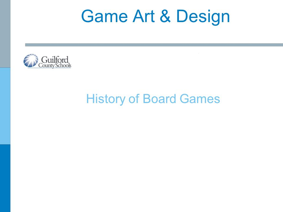 Game Art & Design History of Board Games