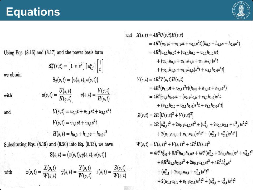 Equations Ivan Viola