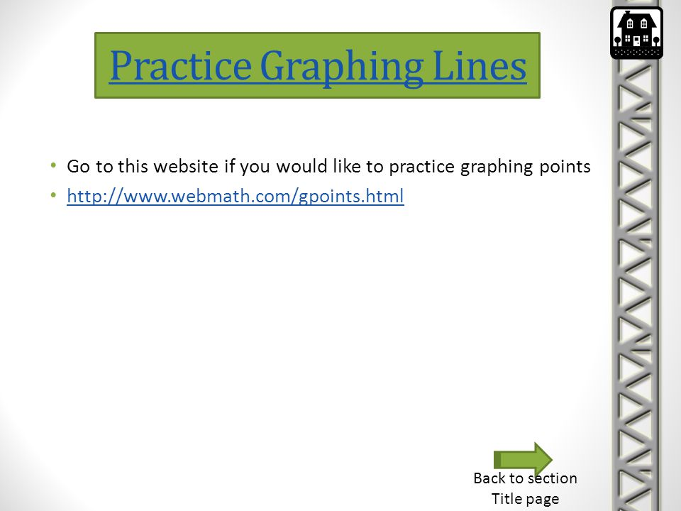 Practice Graphing Lines