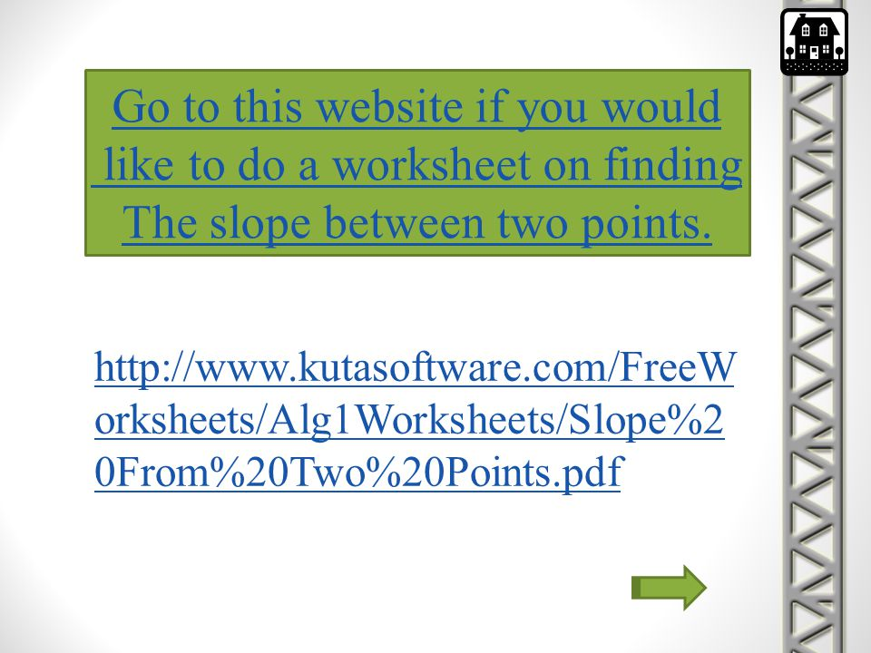 Go to this website if you would like to do a worksheet on finding
