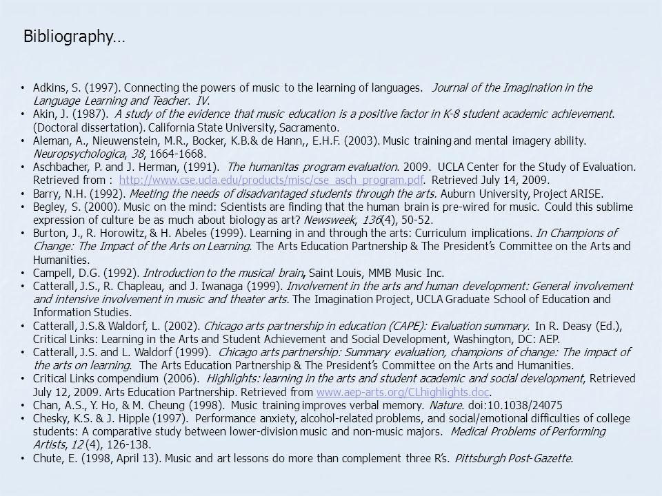 Bibliography…