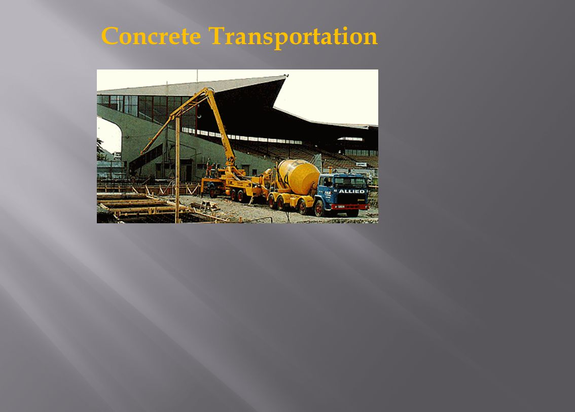 Concrete Transportation