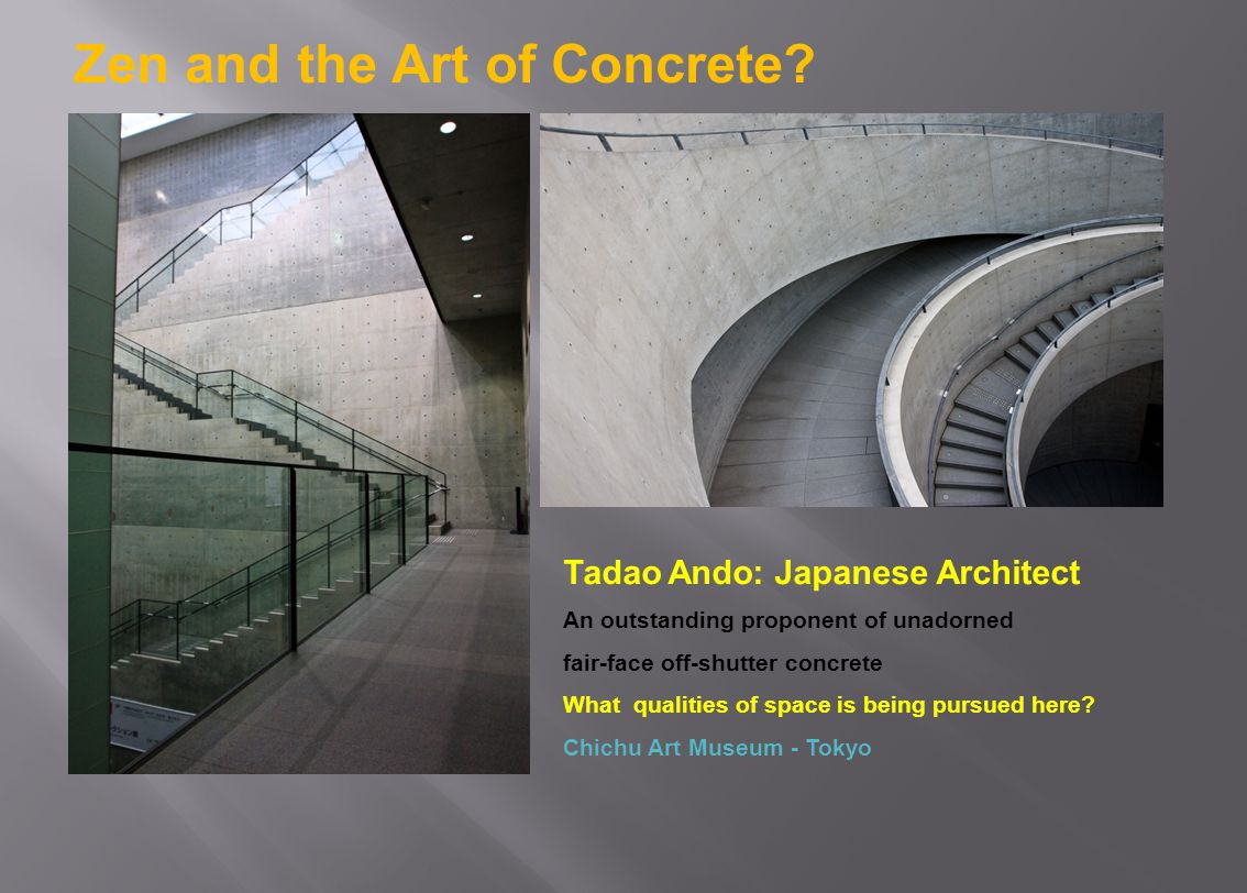 Zen and the Art of Concrete